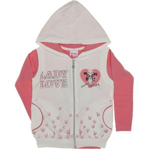 Lady Love Yelekli Sweatshirt 6-9 Yaş