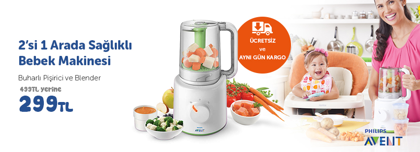 Philips Avent Blender Kampanya