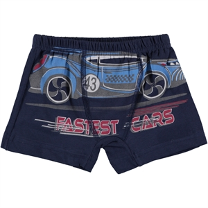 Öts Boy's Combed Cotton Boxer Navy Blue Age 2-10