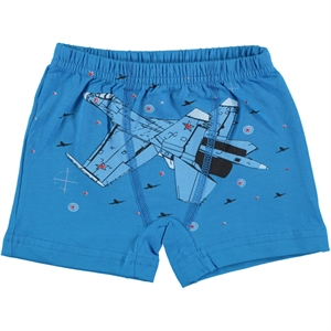 Öts The Ages Of 2-10 Combed Cotton Boxer Turquoise