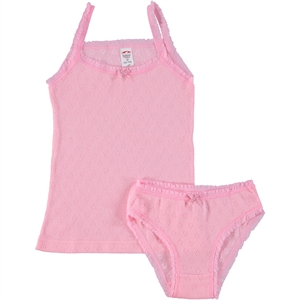 Şahin Underwear Combed Cotton Team Pink 1-12 Years