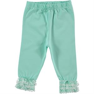 Kujju Mint Green Lace Baby Girl Tights 6-18 Months