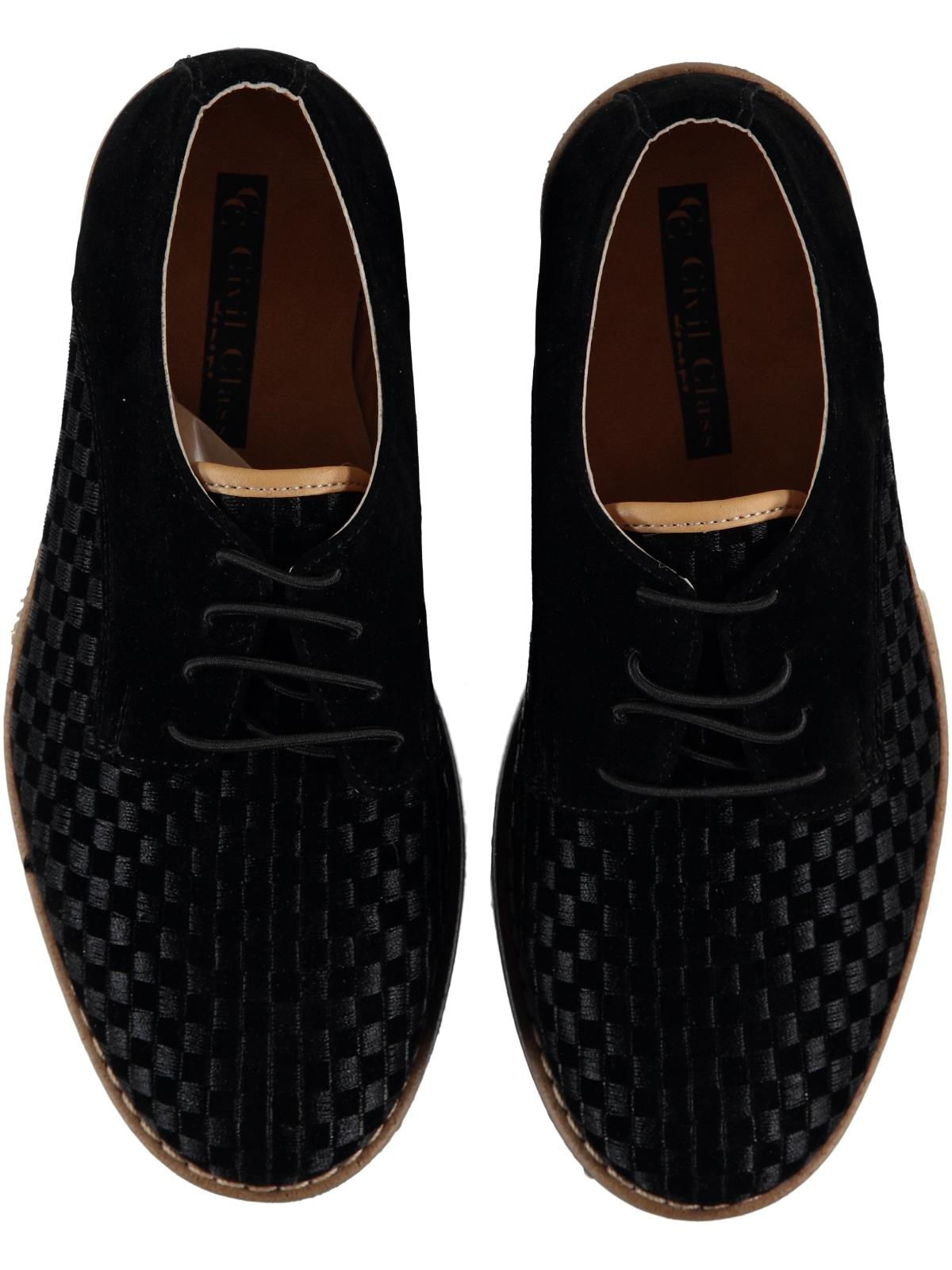 Civil Class Numbers 31-35 Classic Shoes Black