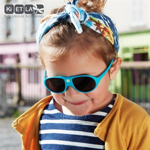 Mycey Unbreakable Sunglasses Ages 2-4 The Child To The Local Mass-Peacock Blue (2)