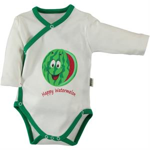 Minidamla Watermelon Scented Combing 1-6 Months Bodysuit With Snaps (1)