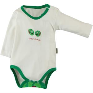Minidamla Watermelon Scented Combing 1-12 Months Bodysuit With Snaps