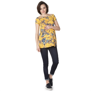 LYN Devon Pregnant Yellow Tunic (1)