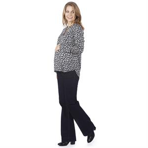 LYN Devon Pregnant Blouse Navy Blue