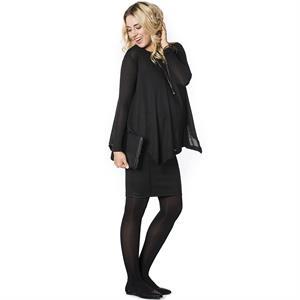 LYN Devon Pregnant Black Pencil Skirt (2)