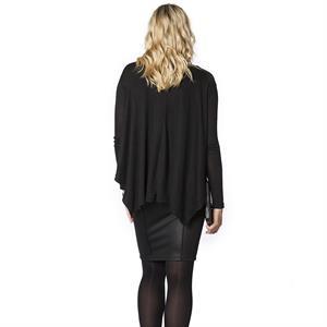LYN Devon Pregnant Black Pencil Skirt (3)