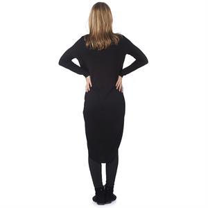 LYN Devon Pregnant Long Blouse Black (2)