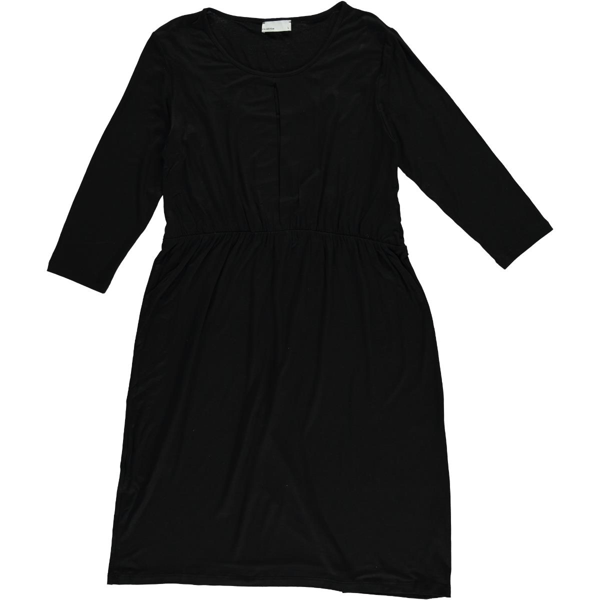LYN Devon Black Pregnant Dress