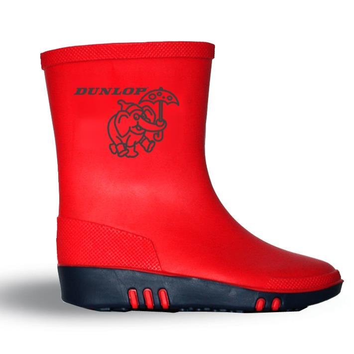 Bhr Design Dunlop Kids Rain Boots Red