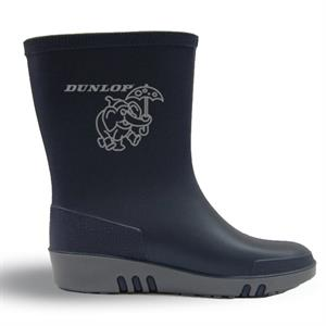 Bhr Design Dunlop Navy Blue Kids Rain Boots
