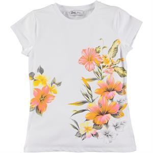 Cvl Cotton T-Shirt White Ages 6-9