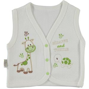 Minikel Yesil Quilted Vest 12-24 Months