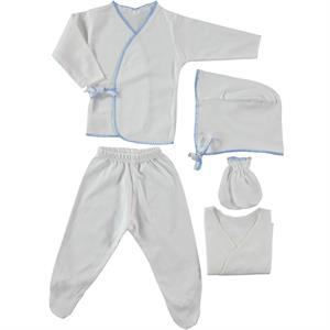 Ciccim Zibin Team 5 Blue combed cotton 0-3 months