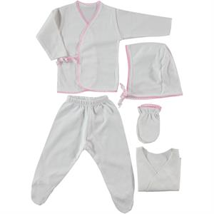 Ciccim Combed cotton 0-3 months Pink 5 Zibin Team