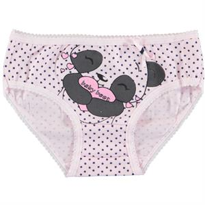 Donella The Ages Of 2-9 Combed Cotton Pink Panties