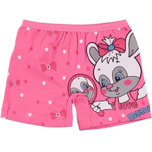 Öts The Ages Of 2-12 Fuchsia Combed Cotton Underwear