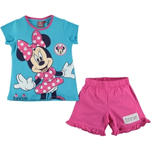 Minnie Mouse Cimpa Turquoise Slumber Of The Ages 4-9 Team