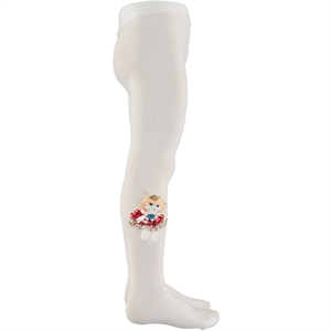 Bella Calze Age 2-13 Civil Accessorizing White Pantyhose