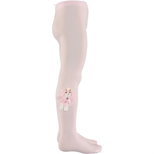 Bella Calze Accessorizing Civil Pantyhose Pink Age 2-13