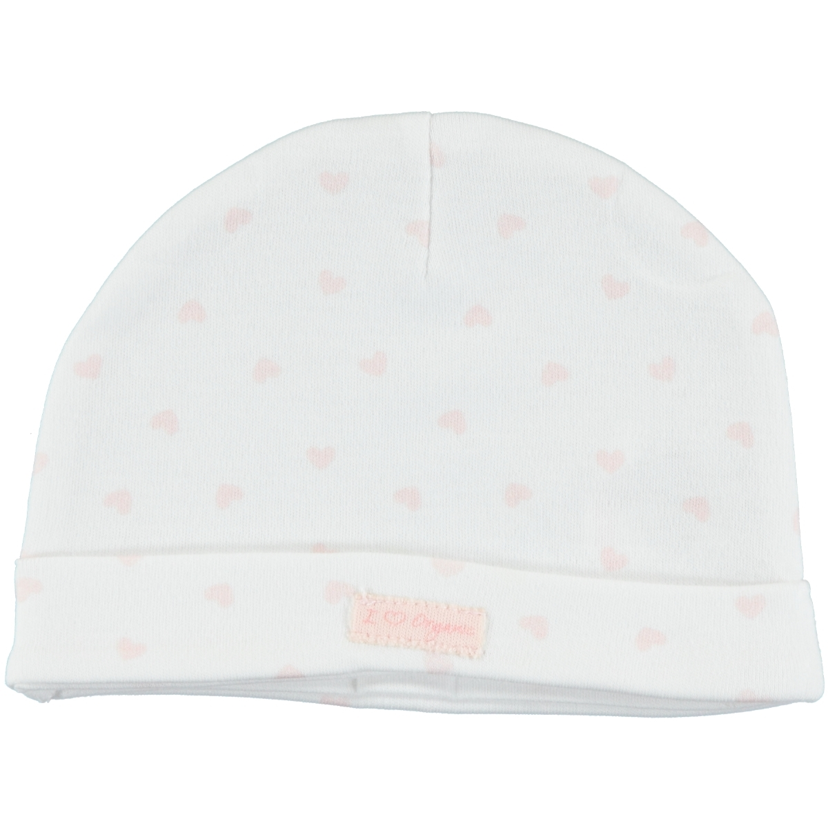 Kiti Kate Organic Combed Cotton Hat Pink 0-3 Months