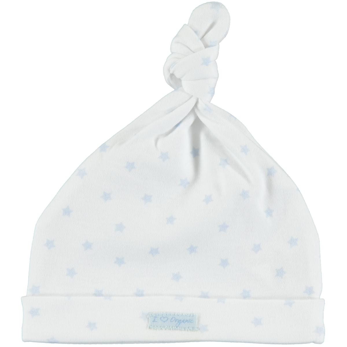 Kiti Kate Organic Combed Cotton 3-6 Months Blue Beret