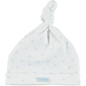 Kiti Kate Organic Combed Cotton 3-6 Months Blue Beret (1)