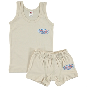 Şahin Boy Combed Cotton Underwear Beige 1-10 Age Team