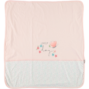 Babycool Combed cotton Blanket 85x90 CM powder (2)