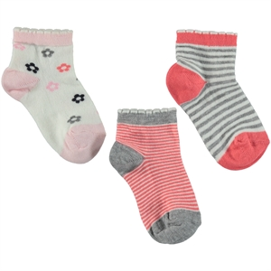 Civil Girls 3-tongue in cheek of socks Ages 3 To 14