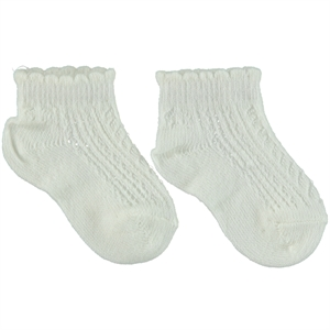 Katamino 1-10 Age Girl Socks Ecru