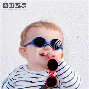 Mycey 0-8 Months Baby Sunglasses Royal Blue Diablo Mass (2)