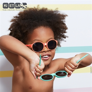 Mycey Children's Age 4-6 Jokakid's Erection Mass Coral Sunglasses (3)