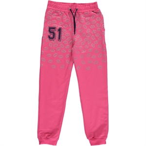 Cvl Sweatpants Fuchsia Girl Age 10-13