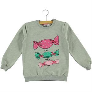 Cvl Sweatshirt Gray Kids Girl Age 6-9