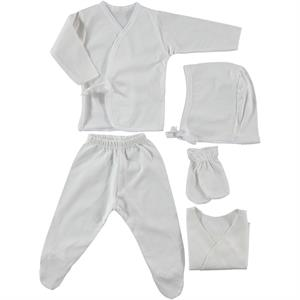 Ciccim Ecru combed cotton 0-3 months 5 Zibin Team (1)