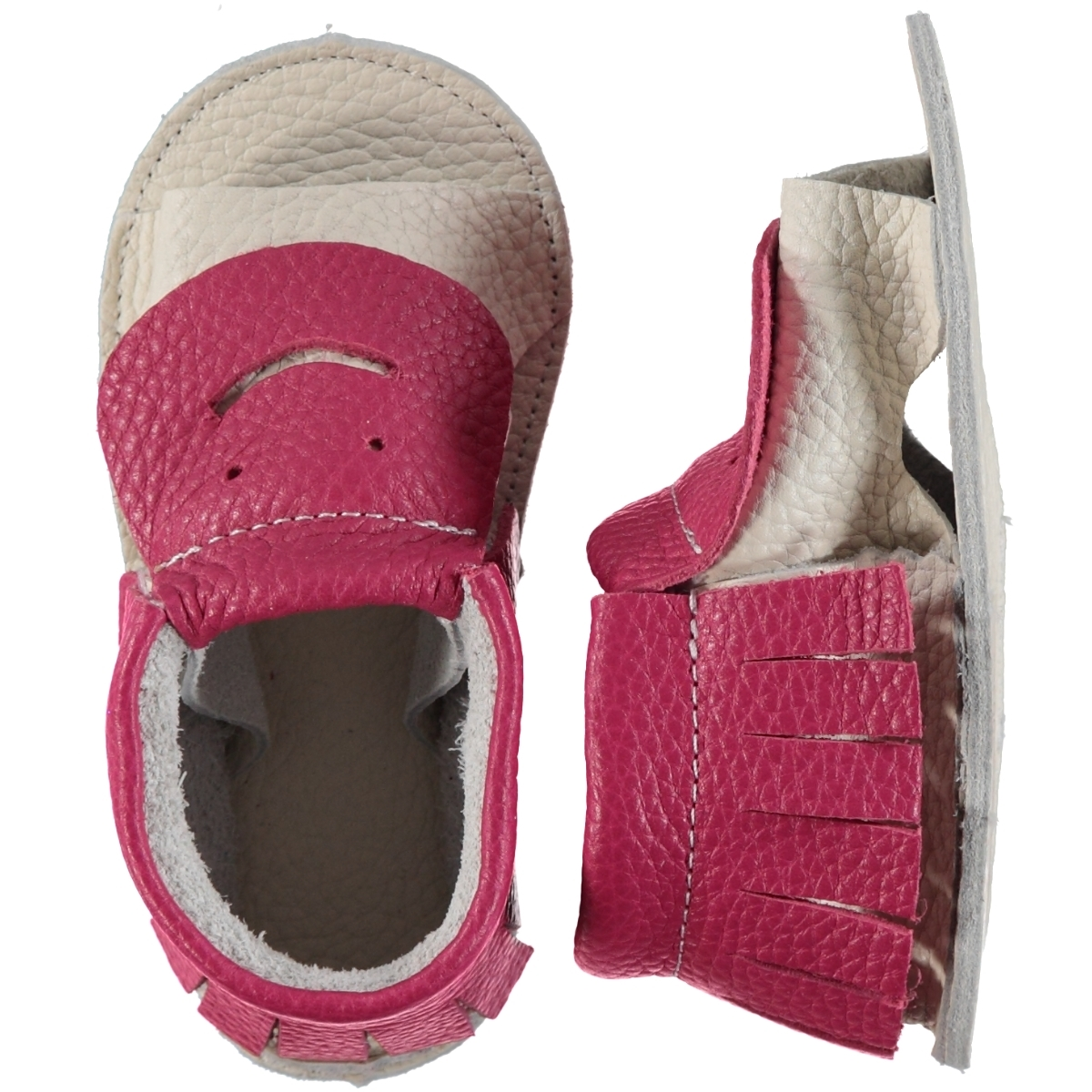 Victory Loafers Shoes 0-18 Months Fuchsia