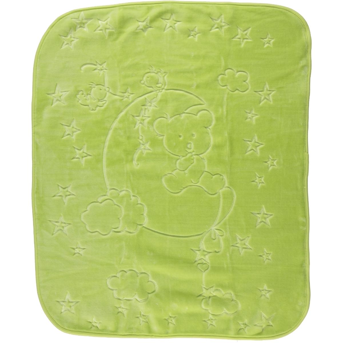 İlk Cemre Embossed Plush Blanket will be installed Yesil cm