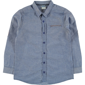 Civil Boys Shirt Saks Blue Boy Age 6-10