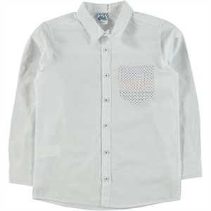 Civil Boys Linen Shirt White Boy 6-10 Years