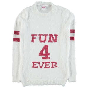 Civil Girls 10-14 Years Girl Sweater Sweater Ecru
