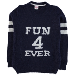Civil Girls 10-14 Years Girl Sweater Navy Blue Sweater