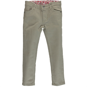 Civil Girls Beige Linen Pants Girl Age 2-6