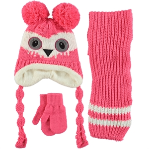 Civil Knitwear Hat Scarf Gloves Set Ages 1-4 Tongue In Cheek