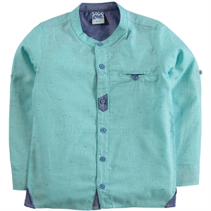 Civil Boys 10-14 Years Boy Shirt Mint Green