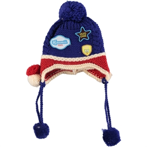 Prahar Blue Boy Sweater Beret Saks 8-12 Years