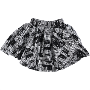 Civil Girls Black Leaf Skirt 3-11 Years (3)